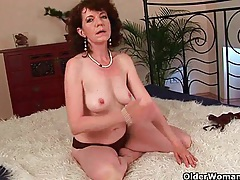 Sex starved granny fucks her toy boy tubes