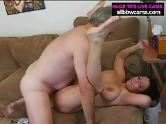 Chubby babe is limber in cock riding porn video tubes