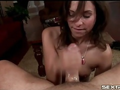 Sloppy pov blowjob from slutty amber rayne tubes