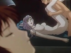 Anime sex on a spaceship with beauties tubes