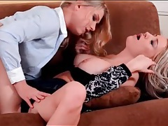 Beautiful blondes home from work finger hot cunts tubes