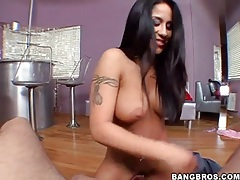 Jenaveve jolie pulls out big cock and sucks on it tubes