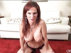 Sexy jennifer dark fondles her big fake tits tubes