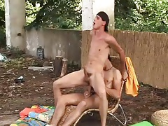 Deep ass fucking with hard body guys outdoors tubes
