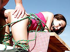Teenage bondage slut outdoors tubes