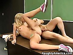 Naughty student blows professor tubes