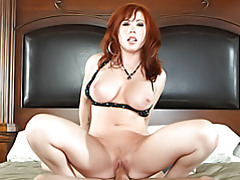 Mom rides cock tubes