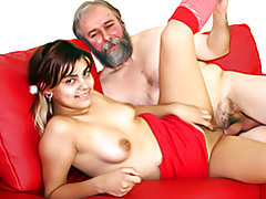 Grey haired guy tubes