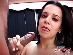 Thick dick sucked by young slut with hot lips tubes