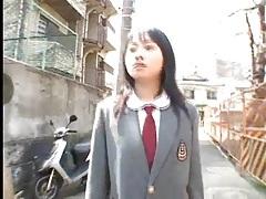Schoolgirl sucks dick in a dirty alley tubes