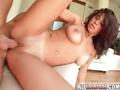 Sexy creampie video with cum leaking out tubes