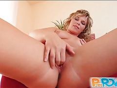 Cock stuffs bald pussy of sexy blonde girl tubes