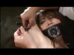 Pain for japanese girl in hot wax play video tubes