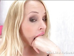 Talented deepthroat blowjob from lola taylor tubes