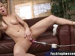 Carolyn reese gives dildo a hot titjob tubes