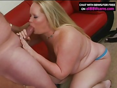 Fat blonde beauty blows big cock old guy tubes