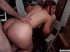 Perfect big ass on hot doggystyle slut tubes