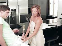 Milf szilvia lauren sucks young cock tubes