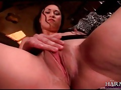 Slut with a soaked cunt craves cock inside her tubes