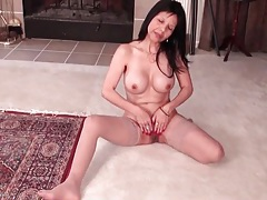 Asian mom with tremendous big fake tits tubes