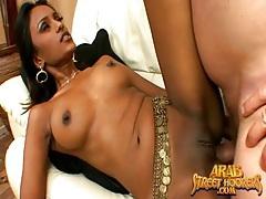 Beautiful arab slut fucked by big cock tubes