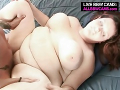 Horny guy licks and fucks her bbw cunt tubes