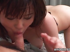 Cute japanese girl finger banged by her man tubes