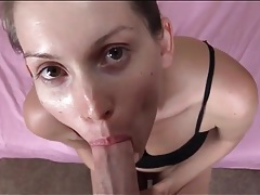 Sexy pov blowjob from beautiful lelu love tubes