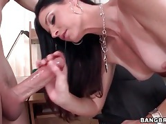 India summer toys her asshole and sucks big cock tubes