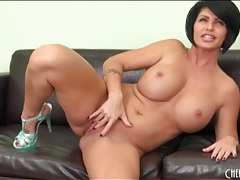 Milf shay fox shows off her big fake tits tubes