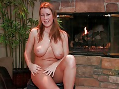 Curvy cutie gives a nude interview tubes