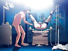 Hentai bondage and medical fetish play tubes