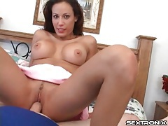 Cute mom sits her hot cunt on a hard dick tubes