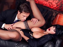 Alison tyler dressed as elvira and sucking cock tubes