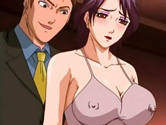 Business men fuck a busty anime prostitute tubes