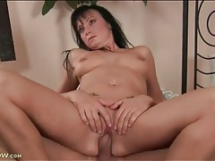 Milf vagina is smooth and sexy in fuck video tubes