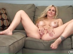 Sultry julia ann striptease and sensual masturbation tubes