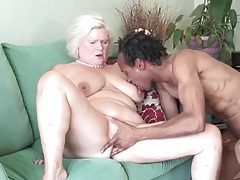 Fit black guy fucks voluptuous blonde mature tubes