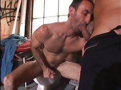 Two studs in a hot cocksucking video tubes