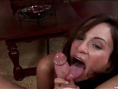 Sloppy pov blowjob porn with amber rayne tubes