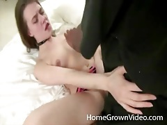 Petite white girl fucked by big black cock tubes
