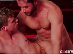 Hot top fucks a tight twink and cums hard tubes
