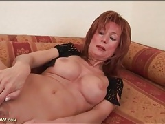 Fake titties on a sexy finger fucking mature tubes
