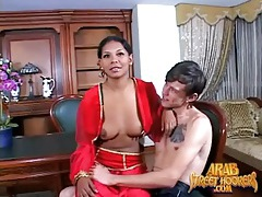 Sexy arab girl strips for a horny guy tubes