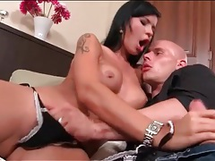 Babe with black hair is a hot cocksucking slut tubes