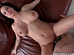 Shaved box babe with big tits fucked hard tubes