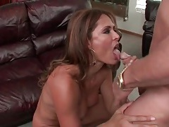 Milf monique fuentes gets horny and sucks dick tubes