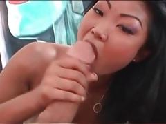Skinny asian cutie gives pov blowjob tubes