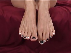 Foot fetish joi from lelu love tubes