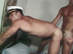 Muscular bodies look hot in gay latin anal porn tubes